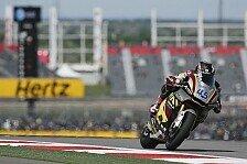 Moto2 - Erste Pole Position für Redding