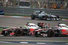 Formel 1 - Bilder: Die besten Bilder 2013: McLaren
