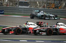 Formel 1 - Button sauer: Pérez war zu aggressiv
