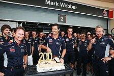Formel 1 - Webber will weiterhin in der F1 fahren