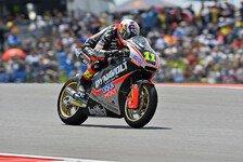 Moto2 - Cortese: Sturz verhindert, aber nur 21.