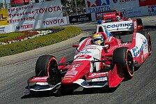 IndyCar - Wilsons Genesung schreitet gut voran