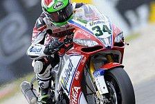 Superbike - Giugliano wollte gewinnen