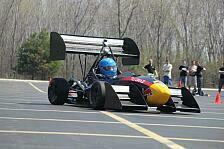Formula Student - TU Graz testet Flügel in Michigan