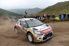 WRC - Loeb übernimmt die Führung in Argentinien