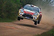 WRC - Loeb will Ogier trotz Rückstand schnappen