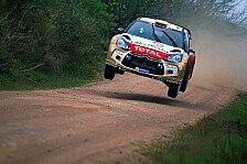 WRC - Loeb in Führung, Hirvonen im Pech
