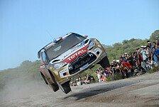 WRC - Loeb von Citroen-Problemen überrascht