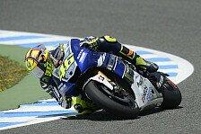 MotoGP - Rossi nach heftigem Abflug auf Rang fünf