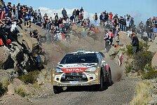 WRC - Citroen bereitet sich auf Marathon-Sprint vor