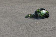 MotoGP - Crutchlow: Start nach Sturz in Gefahr