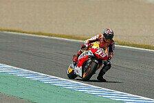 MotoGP - Marquez: Ein positiver Testtag in Jerez