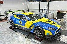 24 h Nürburgring - Aston Martin sucht die optimale Abstimmung
