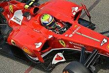 Formel 1 - 3. Training: Massa mit Bestzeit