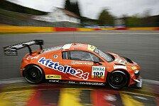 ADAC GT Masters - Lernwochenende für MS RACING in Spa