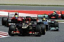 Formel 1 - Lotus-Lopez: Auf Dauer ohne Chance gegen Top-Teams