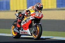 MotoGP - Marquez nach Aufholjagd Dritter