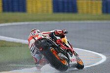 MotoGP - Marquez mit Bestzeit, Lorenzo verletzt