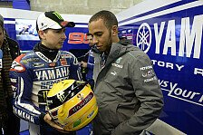 Lorenzo testet Hamiltons Weltmeister-Mercedes in Silverstone
