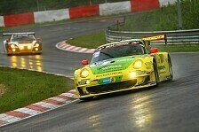 24 h Nürburgring - Timo Bernhard fährt auf Platz sieben