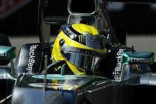 Formel 1 - Monaco-Pole geht an Rosberg