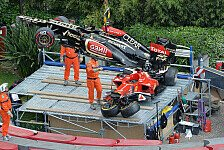 Formel 1 - Bilder: Bilder des Jahres: Unfälle
