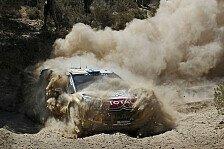 WRC - Hirvonen: Immerhin haben wir es ins Ziel geschafft