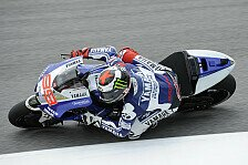 MotoGP - Warm-Up: Lorenzo voran, Smith fliegt ab