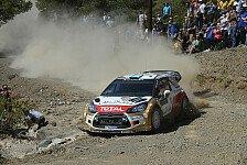 WRC - Citroen: Wenn nicht auf Sardinien, wo dann?