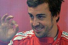 Formel 1 - 2. Training: Alonso markiert die Bestzeit