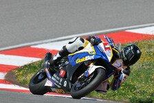 Superbike - Heftiger Sturz für Davies