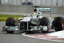 Formel 1 - 2. Training: Rosberg-Bestzeit in Silverstone