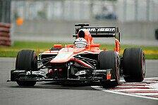 Formel 1 - Bianchi: Ergebnis ist in Ordnung