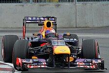 Formel 1 - Kanada-Pole geht an Vettel