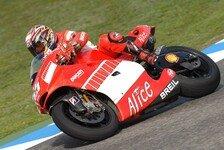 MotoGP - Qualifying: Capirossi führt Ducati-Doppel-Pole an.