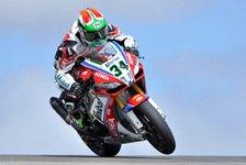 Superbike - Schwieriges Wochenende für Althea-Racing