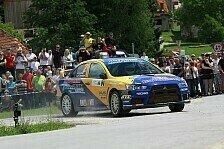 Mehr Rallyes - Hermann Gaßner in Slowenien auf dem Podest