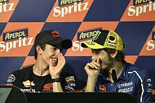 MotoGP - Rossi lädt Marquez zum Motocross-Duell