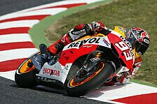MotoGP - Marquez ist in Barcelona angekommen