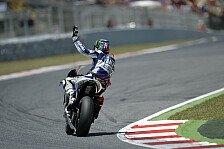 MotoGP - Lorenzo in Barcelona nicht zu schlagen