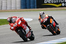MotoGP - Spanien GP: Capirossi bezwingt Pedrosa