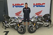 MotoGP - Neue Honda nur kurz im Einsatz