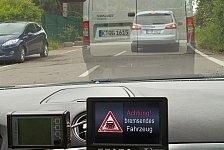 Auto - Revolutionäres Bremslicht getestet