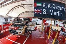 WRC - Al Qassimi startet in Deutschland trotz Verletzung