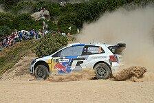 WRC - VW setzt in Italien auf alte Handbremse