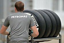 Formel 1 - Reifentest: Mercedes nicht im Dunkeln gelassen