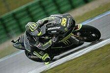 MotoGP - Crutchlow gibt die Pace vor