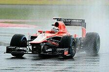 Formel 1 - Marussia: Arbeit am Regen-Setup