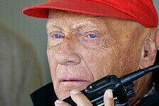 Formel 1 - Lauda: Dann muss Kimi halt weniger saufen
