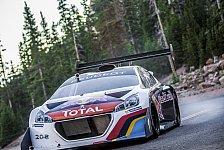 Mehr Rallyes - Pikes Peak: Entgeht Loeb dem Regen?